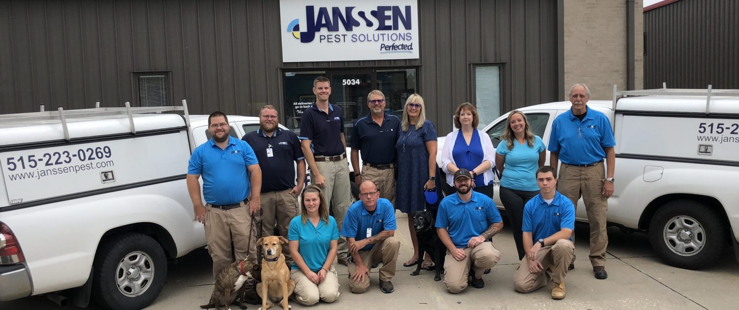 Janssen Pest Solutions Staff