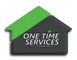 one time service logo